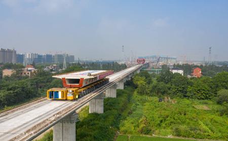 High-speed railway marks milestone