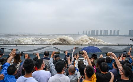 Poem appreciation: Watching Qiantang River Tide