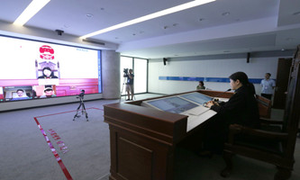 Hangzhou court opens online session amid epidemic