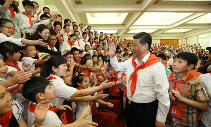 Xi extends Intl Children's Day greetings