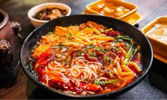 International communication over tasty noodles