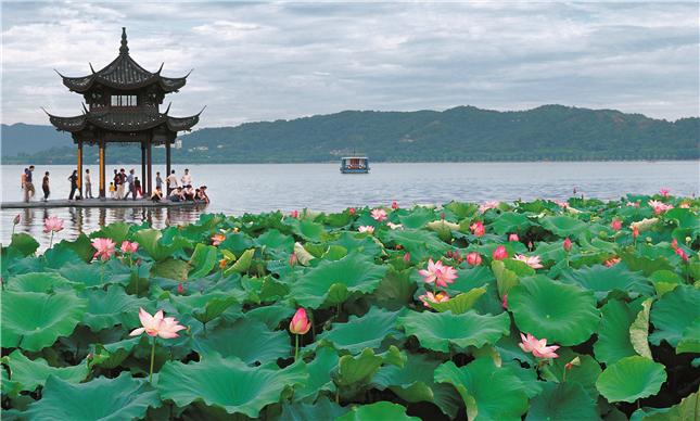 A glimpse into Hangzhou