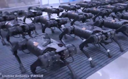Hangzhou robots impress the world