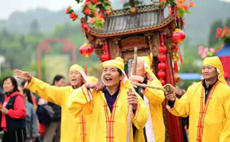 Jiande's Double Third Festival celebrations go viral