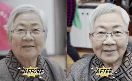 Barber shop gives free haircuts to the elderly