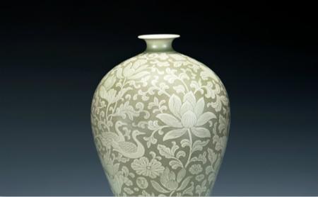 Yue celadon on display at Zhejiang Provincial Museum